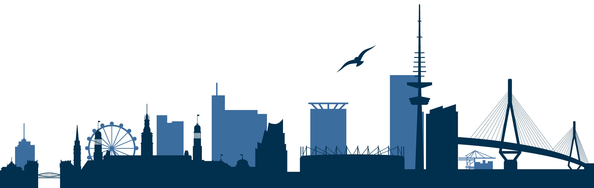 ArztMobil Hamburg Skyline